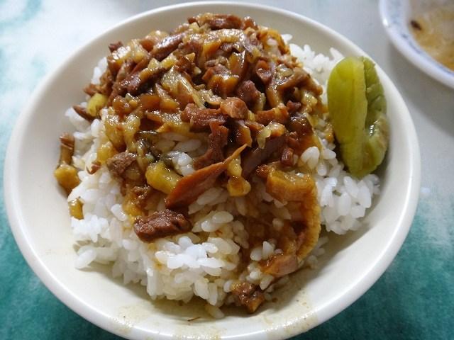 金峰鲁肉飯のルーロウファン