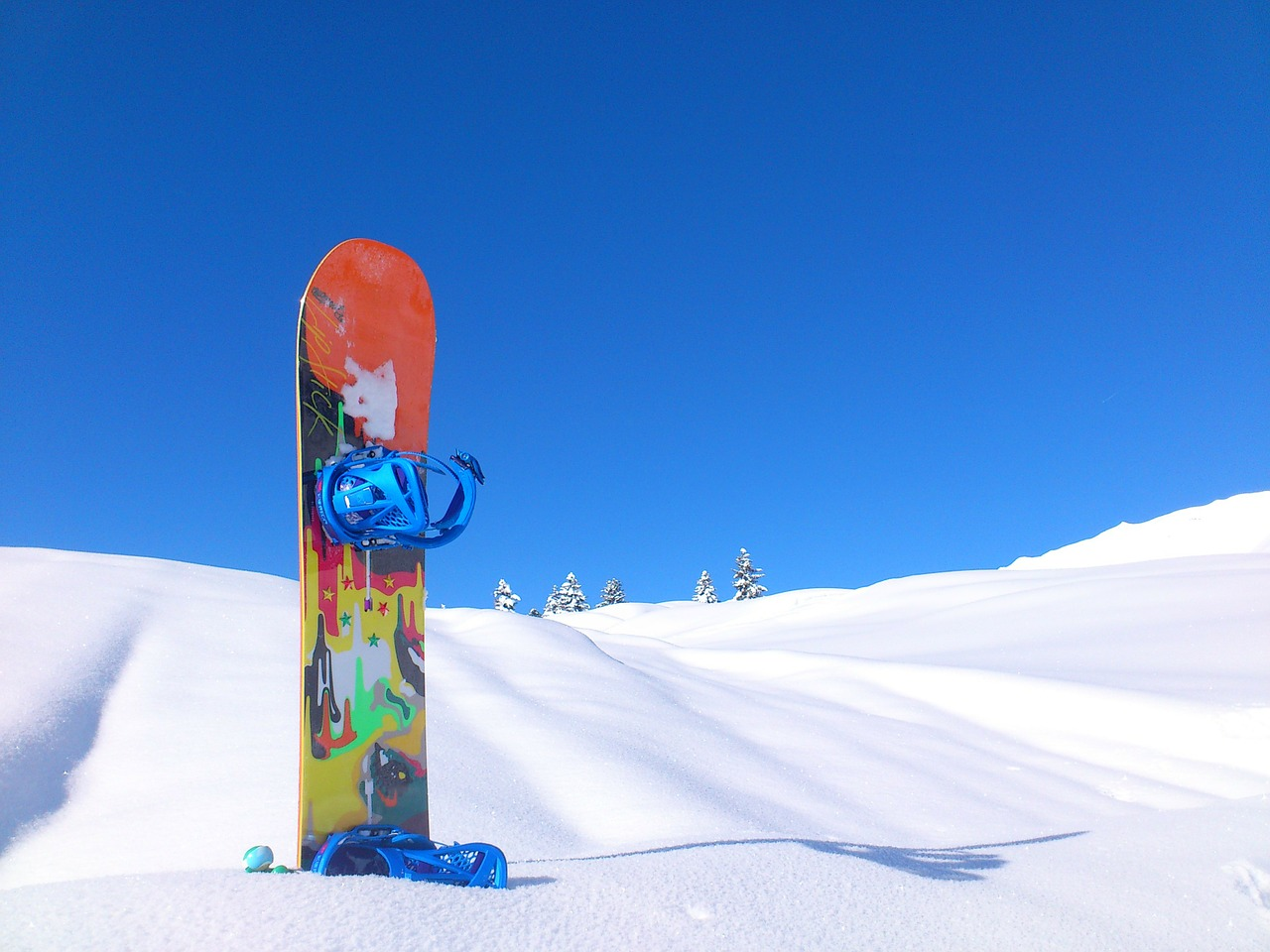 スノーボード写真