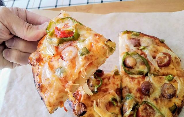 我が家の簡単レシピ ピザ