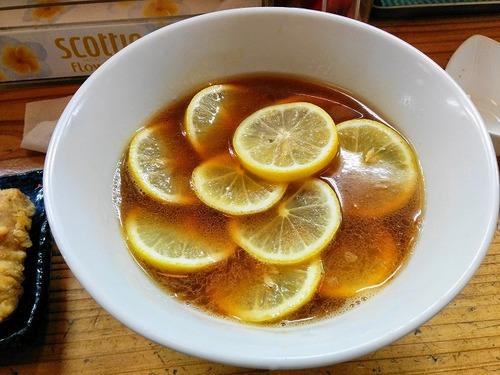 りんすず食堂 レモンラーメン